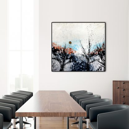 Forest Overture in a meeting room