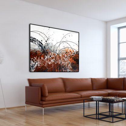Gossamer Nightfall in a living room.