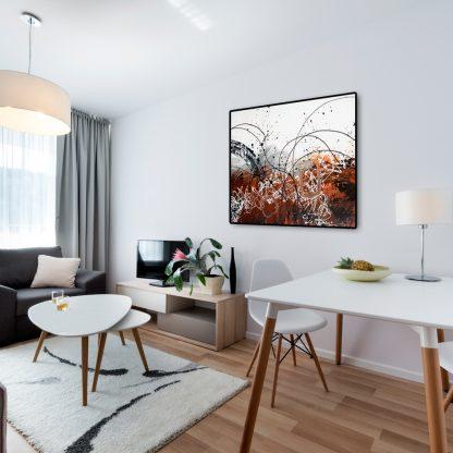 Gossamer Nightfall in a studio apartment
