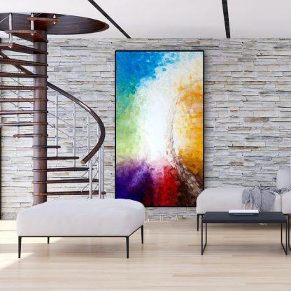 The Tree's Spirit in a livingroom